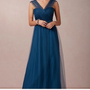 Jenny Yoo Annabelle Convertible Tulle Column Gown